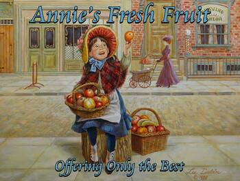 Annie's Fresh Fruit Little Peddlers by Lee Dubin