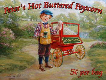 Peter's Popcorn Victorian Era by Lee Dubin