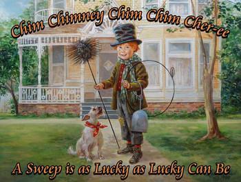 Chimney Sweep Little Peddler by Lee Dubin