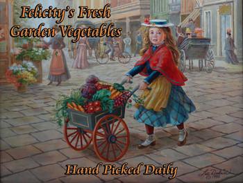 Felicity's Vegetables Little Peddler