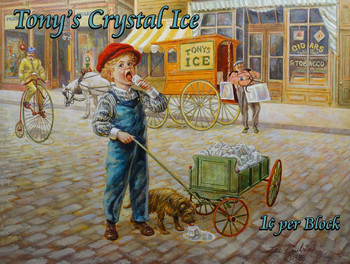 Tony's Crystal Ice Little Peddler