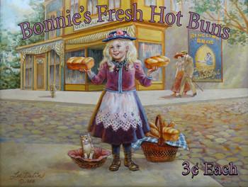 Bonnie's Fresh Hot Buns Little Peddler