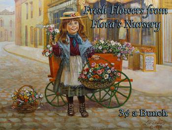 Flora's Flowers Little Peddler