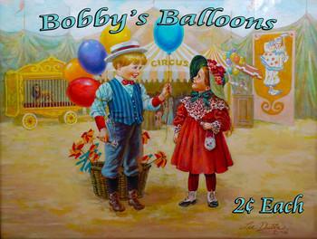 Bobby's Balloons Little Peddler