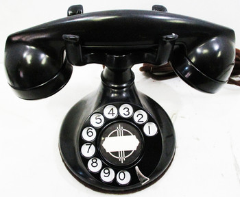 1930'S Western Electric Model #201 Round Base ( Restored & Operational )