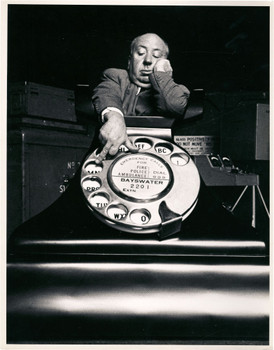 """Western Electric Telephone Model 302 1937 """"Dial M for Murder"""" Alfred Hitchcock"""