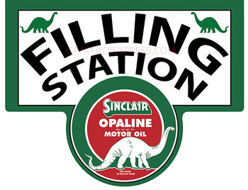 SINCLAIR FILLING STATION Metal Sign