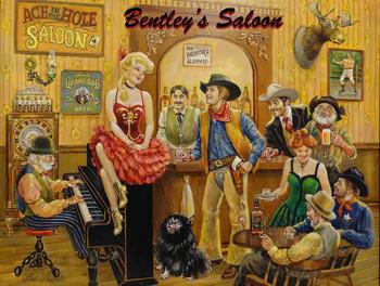 Bentley's Western Saloon by Lee Dubin