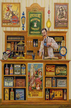 The Apotehcary, Pharmacist by Lee Dubin