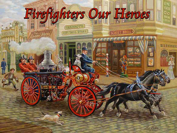 Firefighters Our Heroes by the Sea by Lee Dubin