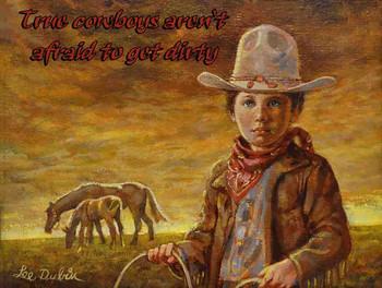 Little Cowboy by Lee Dubin