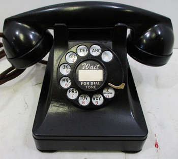 Western Electric Model 302 Prewar Rotary Telephone Fully Restored 1941