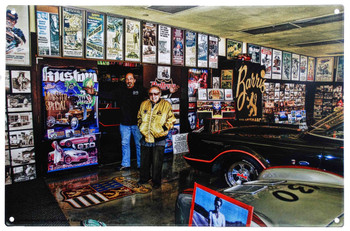 George Barris Shop Wall by Peter Torres