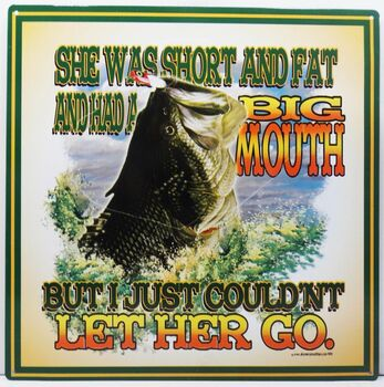 Short, Fat, and a Big Mouth Fish