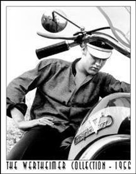 Elvis on Bike