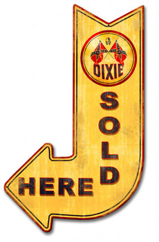 Dixie Sold Here Arrow