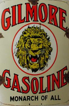 Gilmore Gasoline Metal Sign
