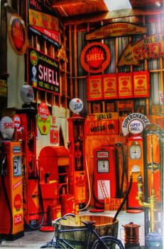 Shell Richardson Collection Metal Sign