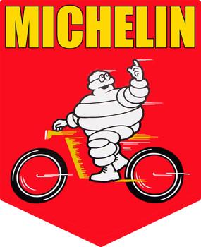 Michelin Bike Banner Sign