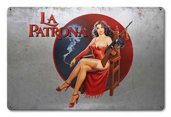 La Patrona By Greg Hildebrandt Metal Sign