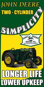John Deere Two Cylinder Longer Life Lower Upkeep