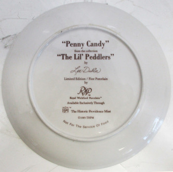 """Penny Candy"" Lee Dubin Collector Plate"