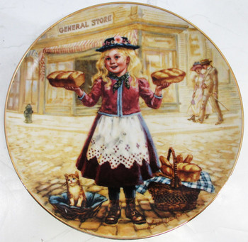 """Oven Fresh"" Lee Dubin Collector Plate"