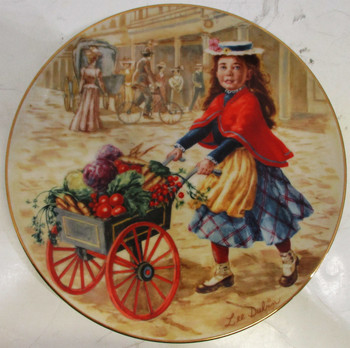 """Just Picked"" Lee Dubin Collector Plate"