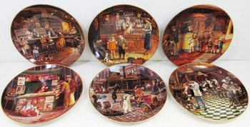 """Bygone Days"" Lee Dublin 6 Plate Collector Set"