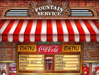 Coca-Cola Soda Fountain by Michael Fishel