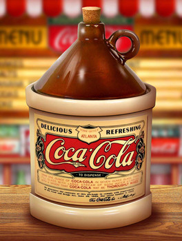 Coca-Cola Jug by Michael Fishel