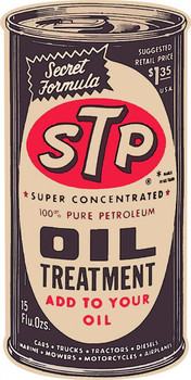 STP Oil Treatment Plasma Cut Metal Sign