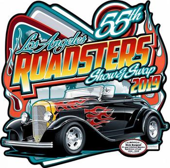 LA Roadster 2019 Plasma Cut Sign