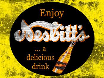 Nesbitt's Soda Metal Sign