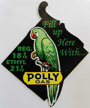 Polly Gas Fill Up Here