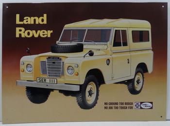 Land Rover No Ground Too Rough $2.25/each