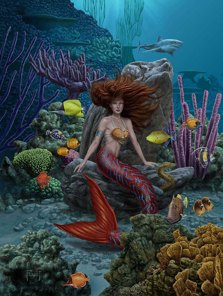 Under the Sea Mermaid by Mitch Foust
