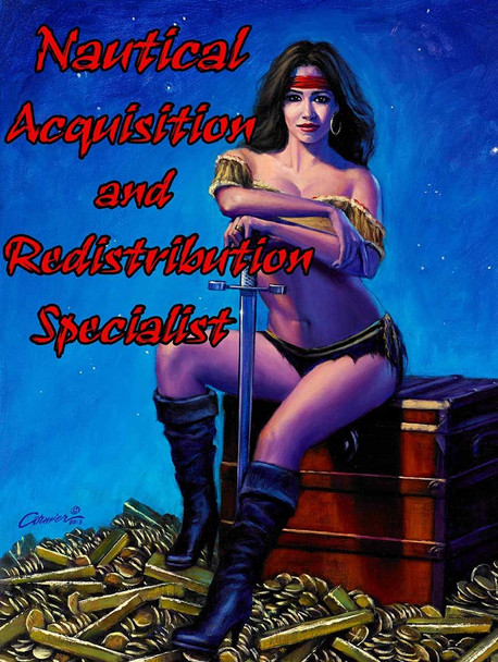 Nautical Acquisition and Redistribution Specialist by Will Cormier