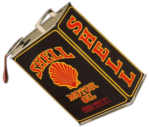 Shell Lubricating Motor Oil
