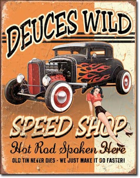 Deuces Wild Speed Shop