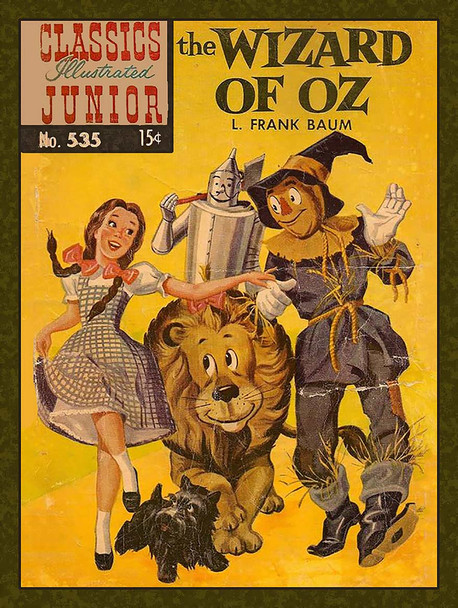 Wizard of Oz Vintage Inspired Cover
