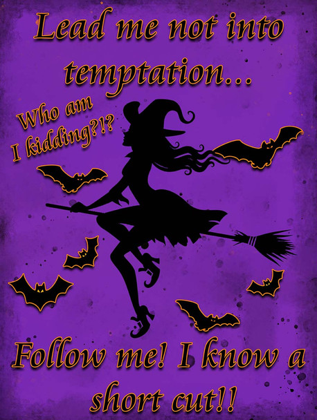 Lead Me Not Into Temptation - Witch