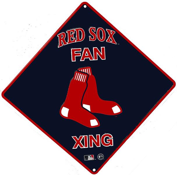 Red Sox Fan Crossing