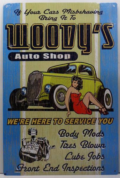 Woody's Auto Shop