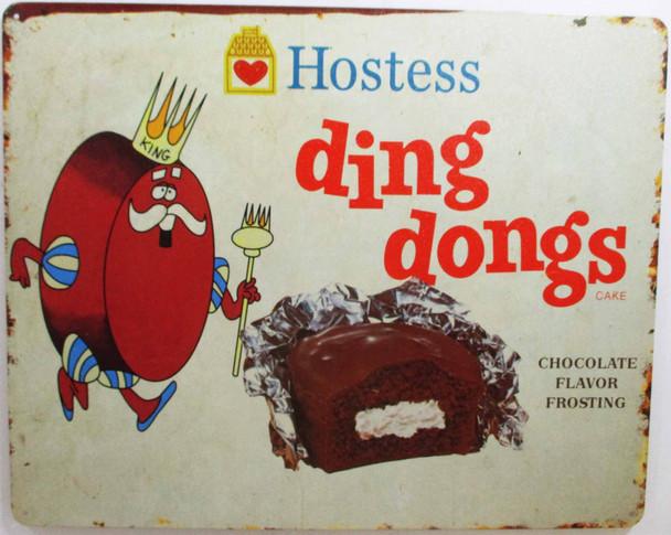 Hostess Ding Dongs Metal Sign