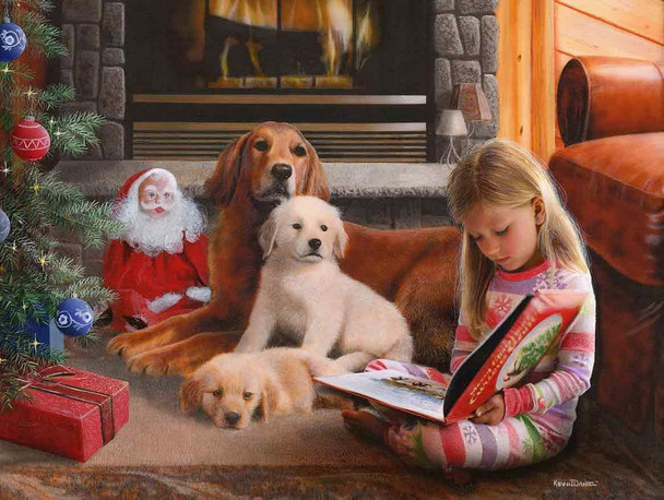 Golden Christmas Eve by Kevin Daniel