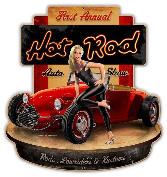 Hot Rod Show Laser Cut Sign