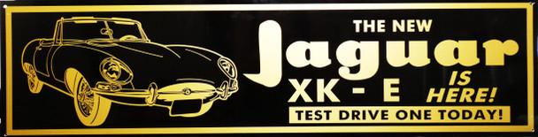 "Jaquar XK-E Motor Car Advertisement 46"" by 12"""
