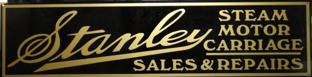 "Stanley Motor Car Advertisement 46"" by 12"""