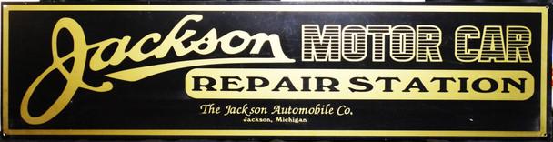"Jackson Motor Car Advertisement 46"" by 12"""